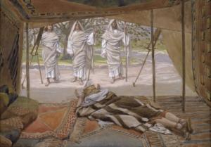 Tissot_Abraham_and_the_Three_Angels