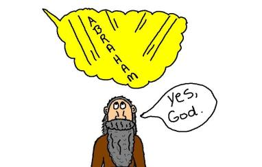 clipart abraham god calling him