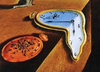 Salvador Dali Melting Clocks